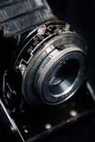 Un retro primo piano dell'obiettivo di macchina fotografica Fotografia Stock Libera da Diritti