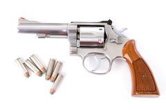 Un revolver di 38 speciali Immagini Stock Libere da Diritti