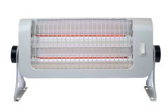 Un riscaldatore elettrico di aria immagini stock