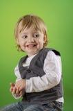 Un ragazzo felice adorabile Immagini Stock
