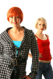 Un ritratto di due giovani donne Immagine Stock Libera da Diritti