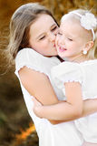 Un ritratto di due sorelle felici Fotografia Stock Libera da Diritti