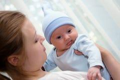 Un ritratto di tre mesi del bambino del dolce Fotografie Stock Libere da Diritti