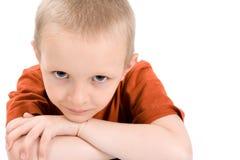 Un ritratto di un bambino Immagine Stock