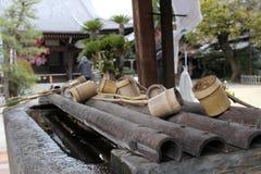Un rituel pour épurer le pèlerin Dans le Japonais, il ` s appelé image stock
