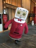 Un robot amichevole Fotografie Stock Libere da Diritti