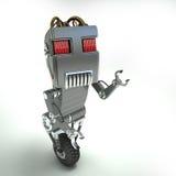 Un robot de roue Images libres de droits