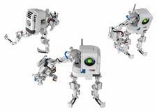 Un robot del brazo stock de ilustración