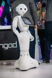 Un robot di 2016 CES Fotografia Stock