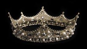 Un roi ou une couronne de la Reine images libres de droits