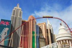 Un roller coaster en Nueva York - Nueva York Fotografía de archivo libre de regalías