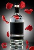 Un romance del alcohol. foto de archivo libre de regalías