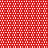 Un rosso d'annata 3D ha reso il modello del diamante Fotografie Stock Libere da Diritti