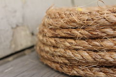 Un rouleau de corde Photos stock