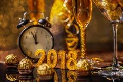 Un ` s EVE da 2018 nuovi anni Fotografia Stock