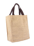 Un sac à provisions d'écologie de réutilisation Images libres de droits