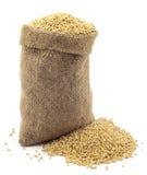Un sac de millet Photographie stock