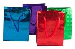Un sacchetto dei quattro regali Immagine Stock