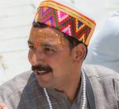 Un sacerdote del brahmán en Uttarakhand fotos de archivo libres de regalías