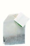 Un sachet à thé sur une chaîne de caractères Photographie stock libre de droits