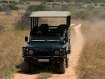 Un safari 4X4 Fotografie Stock