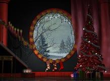 Un salón festivo stock de ilustración