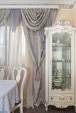 Un salon avec un style luxueux Photographie stock