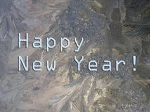 Un saluto di 2015 buoni anni Fotografie Stock Libere da Diritti
