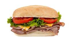 Un sandwich submersible sur le blanc photo libre de droits