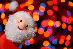 Un Santa hecho en casa Imagen de archivo