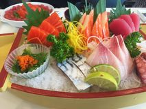 Un sashimi fresco Fotografia Stock Libera da Diritti