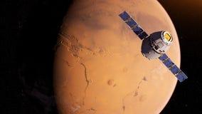 un satellite illustration stock