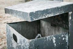 Un seau de déchets Photographie stock libre de droits
