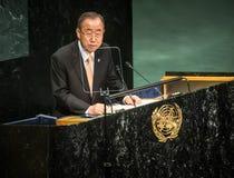 UN Secretary General Ban Ki-moon Stock Image