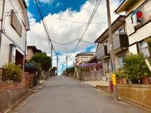 Un secteur en ville natale de préfecture de Chiba du Japon photos libres de droits