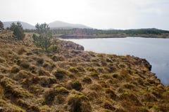 Un secteur marécageux sur l'île de Lewis et de Harris, Ecosse Photos libres de droits