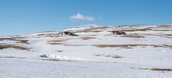 Un secteur rular snowwhite images stock