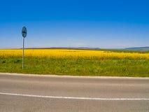 Un segnale stradale Fotografia Stock