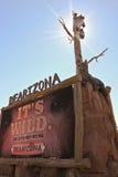 Un segno dell'entrata a Bearizona, Williams, Arizona Fotografia Stock