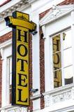 Segno Lund dell'hotel Immagini Stock Libere da Diritti