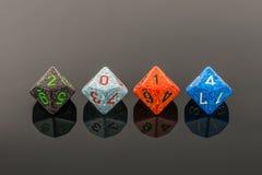 un segno di 2014 cubi di colore Fotografia Stock