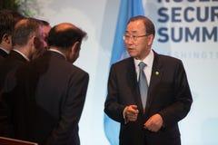 UN sekretarka - generał Ban Ki-moon Obraz Stock