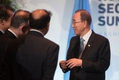 UN sekretarka - generał Ban Ki-moon Obrazy Royalty Free