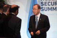 UN sekretarka - generał Ban Ki-moon Obraz Royalty Free
