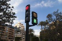 Un semaforo Fotografie Stock