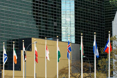 UN in session Stock Photo
