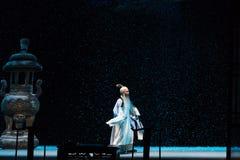 """Un Shan Nevado Noche-Shanxi Operatic""""Fu al  de Beijing†Foto de archivo libre de regalías"""