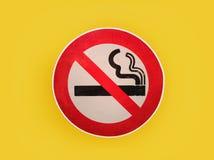 Un signal non-fumeurs images stock