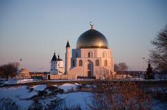 Un signe commémoratif Le Tatarstan Fédération de Russie Musée-réservation historique et architecturale d'état bulgare photos libres de droits
