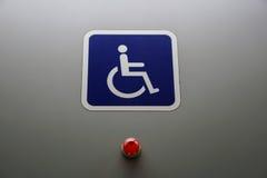 Un signe d'handicap photographie stock libre de droits
